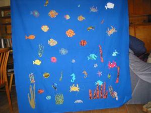 Quilt 'Fische'